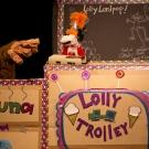 Lolly, Gordon & tape recorder!